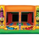 Crayon Indoor Bouncy Castle