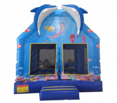 Dolphin Bouncy Castle