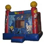 Dragon Ball Z Bouncy Castle