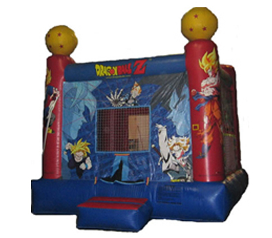 Dragon Ball Z Bouncy Castle