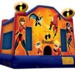 Incredibles Bouncy Castle