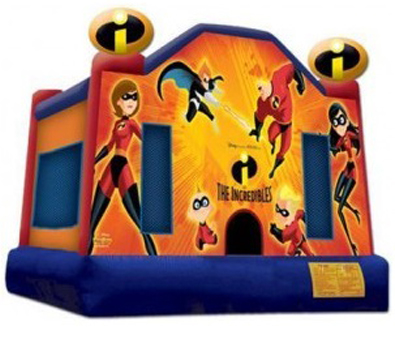 Incredibles Bouncy Castle