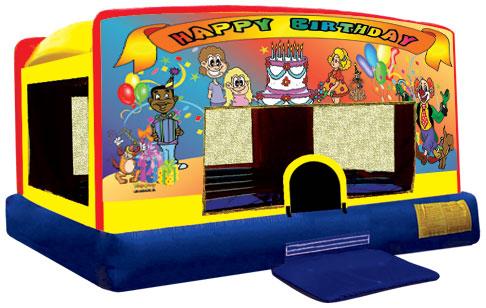 Indoor Banner Bounce - Happy Birthday