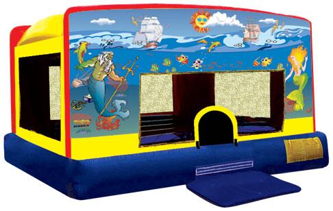 Indoor Banner Bounce - Mermaid