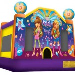 It's a Girl Thing Bouncy Castle
