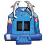 Little Mermaid Bouncy Castle