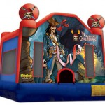 Pirates of the Caribbean Bouncy Castle