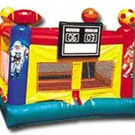 Sports Arena Bouncy Castle