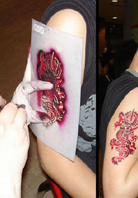 Air Brush Tattooist Entertainer