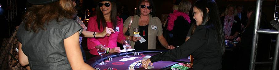 Corporate Christmas Casino Event Rentals
