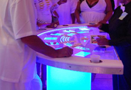 LED Blackjack Rentals