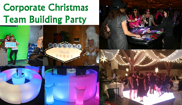 Corporate Christmas Team Building Party
