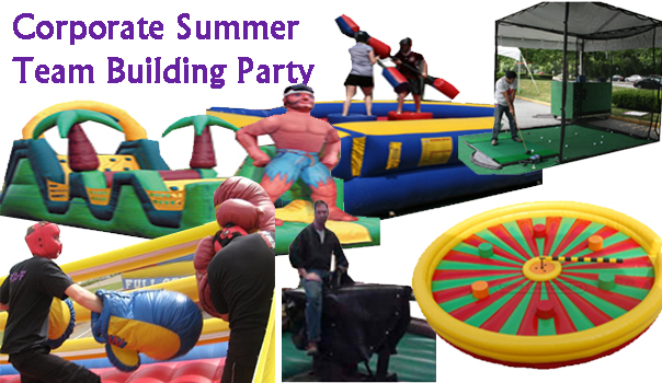 Corporate Summer Team Building Party