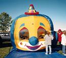 Balloon Swirl Clown Face