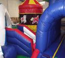 Carnival Train Bouncy Castle