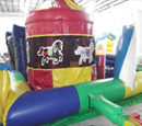 Toddler Carnival Train Bounce