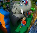 Zoo Playland Bouncy Castle