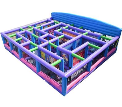 Fun House Inflatable Maze