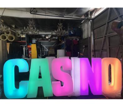LED Casino Letters